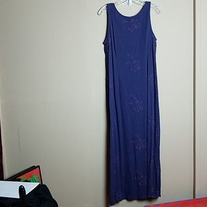 Vintage Johnny Was Collection Maxi Dress